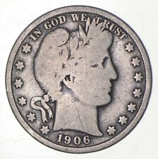 1906 Barber Half Dollar - Charles Coin Collection *279