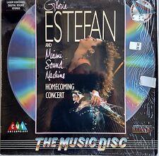 GLORIA ESTEFAN Laserdisc Homecming Live Concert LD in shrink