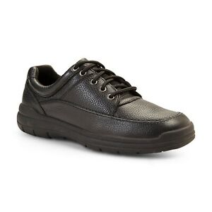 Thom McAn Men's Norbert Black Oxford Lace-Up Shoes 8 Wide or 9.5 Wide