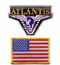 Stargate Atlantis 2 ecussons brodés equipe USA stargate atlantis USA team patch