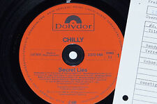 CHILLY -Secret Lies- LP Cosmic Disco Killer 1982 Polydor Archiv-Copy mint