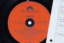 CHILLY -Secret Lies- LP Cosmic Disco Killer 1982 Polydor Archiv-Copy mint
