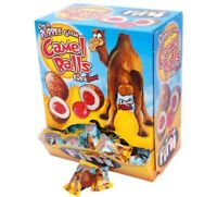 200 x FINI CAMEL BALLS EXTRA SOUR LIQUID FILLED BUBBLE GUM WRAPPED BULK LOLLIES