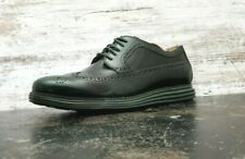 Cole Haan Lunargrand OS Wingtip Shoes Sz 13 M Used Brown Patent Leather C13707