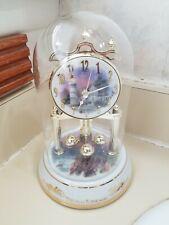 """Thomas Kinkade"""" Victorian Light """" 2006 Porcelain Revolving Pendulum Chimes"""