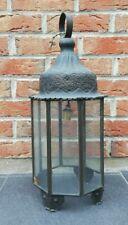 Ancienne lanterne extérieure vintage décoration H 54 cm