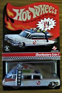 Hot Wheels RLC  Exclusive Ghostbusters Ecto-1