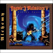 Alchemy Yngwie Malmsteen Rising Force CD in original case w/ book & Slip Cover