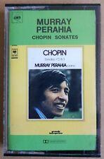 Murray Perahia - Chopin Sonates - CBS Cassette Tape 40-76242