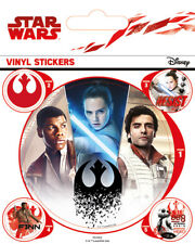 Star Wars The Last Jedi (Rebels) - VINYL STICKERS 5 PACK BY PYRAMID PS7353