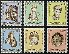 LUXEMBOURG timbres/Stamps Yvert et Tellier n°729 et 734 n** (r) (cyn10)