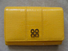 NWT Coach 44505 Julia Embossed Crocodile Compact Clutch Wallet