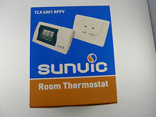 SUNVIC TLX 6001 RFPV PROGRAMMABLE ROOM STAT RADIO FREQ SUPERSEDES TLXRFP NEW