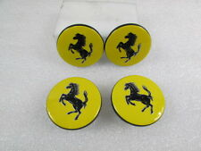 Ferrari Wheel Center Cap Set of 4, Updated Style, New, P/N 226245 s/c 340066