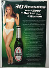 30 Reasons Why Beer Is Better Than A Woman Poster 36x24 Sexy Hot Girl Lingerie