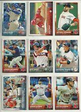 2015 Topps Lot/1450 Baseball Cards w/ Jung Ho Kang Soler Escobar RCs Trout Abreu