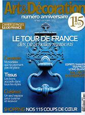 Art et Décoration octobre 2012 n°482 Le Tour de France des plus belles maisons