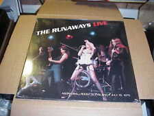 LP:  THE RUNAWAYS - Live Agora Ballroom Cleveland 1976  NEW SEALED IMPORT