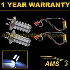2X H7 WHITE 60 LED FRONT HEADLIGHT HEADLAMP LIGHT BULBS CAR KIT XENON HL500301