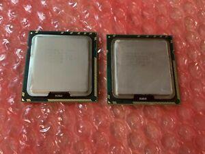2 x Intel Xeon E5640 SLBVC 2.66 GHz 5.86 GT/s 12 MB LGA1366 Lot of 2