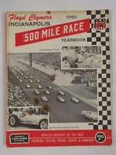 1960 Indianapolis 500 Floyd Clymer's Yearbook History Jim Rathmann Watson / Offy