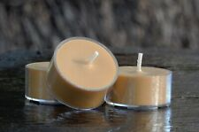10pk 120hr/pack Sexy TIBETAN AMBER Scented NATURAL ECO SOY TEA LIGHT CANDLES