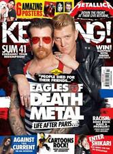 KERRANG MAGAZINE NUMBER 1607 ~ EAGLES OF DEATH METAL ~ AGAINST THE CURRENT ~ NEW