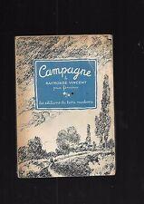 Campagne Raymonde Vincent Prix Femina Les éditions du livre moderne 1944 REF E9