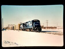 HM18 ORIGINAL TRAIN SLIDE ENGINE  UTICA NY 5002 B36-7 CONRAIL CR