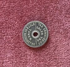 State of Washington Sales Tax Token 1930's