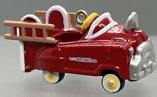 🚒 New Hallmark Ornament Miniature Kiddie Car Classics Series #2 Fire Truck