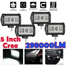 "5""inch 2980W CREE LED Driving Work Lights Spotlights Offroad 4x4 Round Truck ATV"