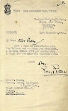 GUY GIBSON VC Signed Letter - 617 Squadron 'Dam Busters' - WW2 - preprint