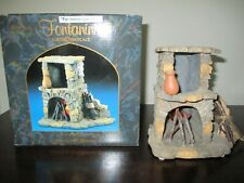 Fontanini Lighted Fireplace