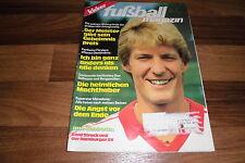 KICKER EXTRA  Fußball Magazin # 1/1983 - DIDIER SIX/ABRAMCZIK/Volltreffer Völler
