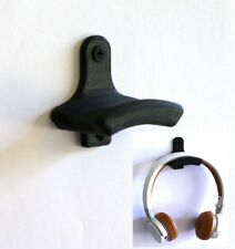 1 Headphone Holder Wall Mounted Hanger Earphone Headset Stand Display Rack Hook
