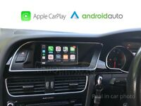 Wireless Apple CarPlay Wired Android Auto for Audi A4 B8 2007-15 Concert