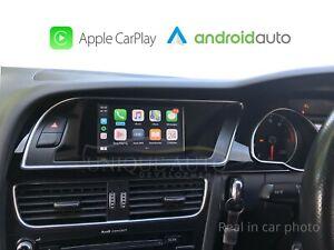 Sans Fil Apple Carplay Câblé Android Auto pour Audi A4 B8 2007-15 Concert