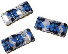 10 BRACCIALI FARFALLA madreperla Conchiglie VERE conchiglia stock braccialetti