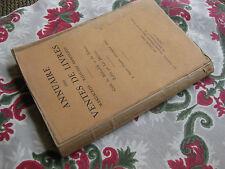 1924 Annuaires ventes de livres Guide du bibliophile Delteil Manuscrit Reliure