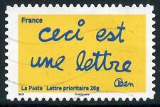 TIMBRE FRANCE AUTOADHESIF OBLITERE N° 618 / SOURIRES PAR L'HUMORISTE  BEN