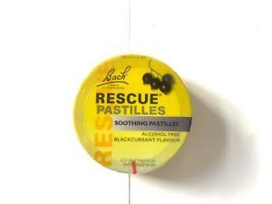 Bach Rescue Soothing Pastilles - Blackcurrant Flavour - 50g Pastilles