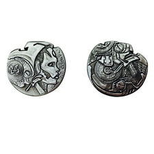 "Norse Foundry RPG D20 Adventure Coins ""25"" Silver Piece Set of 10 - Sci-Fi  Star"
