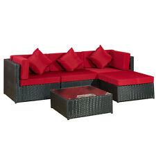 Garten-Tische & Bank-Sets aus Rattan mit bis zu 4 Sitzplätzen