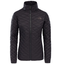 North Face Women's Thermoball Jacket Medium, Matte Black, New With Tags RRP £180