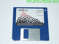 WORKBENCH FONTS v3.1 OPERATING SYSTEM OS - COMMODORE AMIGA FLOPPY DISK SOFTWARE