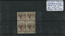 Malaya Straits Sett. 1939 SG.297 Block Die 2 U/M