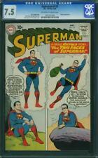 Superman 137 CGC 7.5 -- 1960 -- Krypto. Two Faces. Swan. Top 15 copy #1051357003