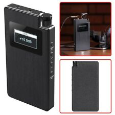 Portable Stereo Headphone Amplifier Amp Audio DAC 32Bit 768KHz USB 3.5mm Optical