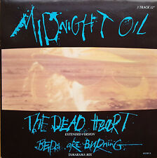 """Midnight Oil - The Dead Heart   12""""-Maxi-Single (NL,1988)   CBS 651585 8"""